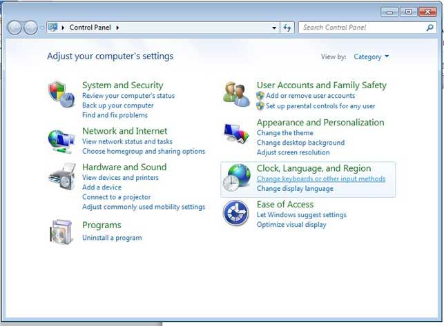 Cara setting keyboard arab pada windows 7