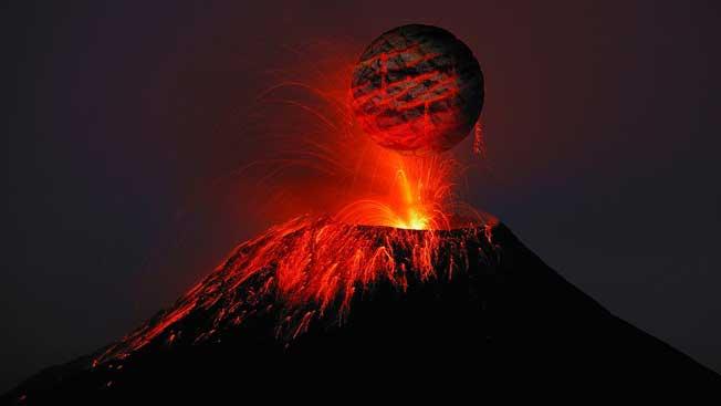 pengertian gunung berapi