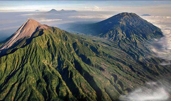 pengertian gunung