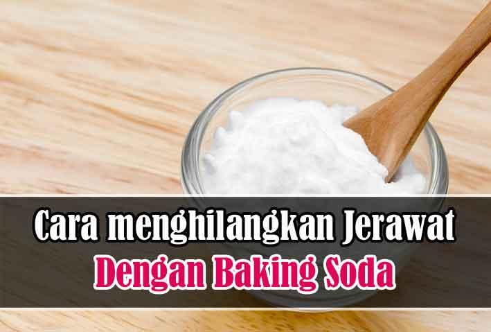 cara menghilangkan jerawat dengan baking soda