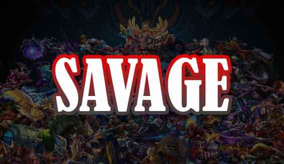 arti kata savage