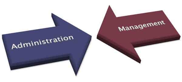 Perbedaan manajemen dan administrasi