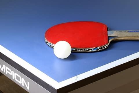 ukuran bet tenis meja