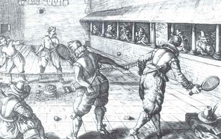 Sejarah permainan tenis lapangan
