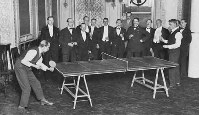 Sejarah tenis meja dunia