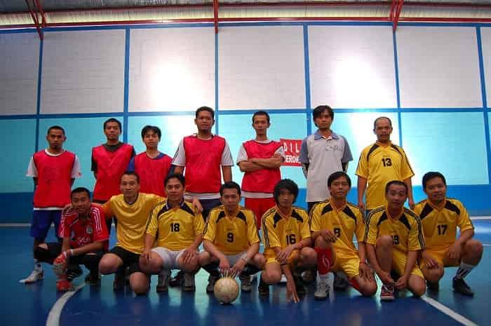 Jumlah pemain futsal