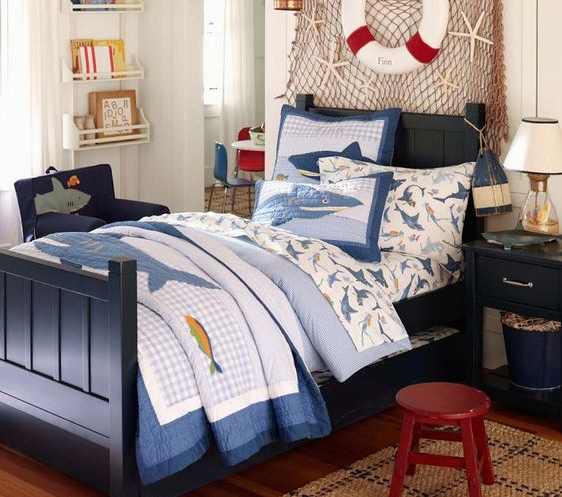 kamar tidur anak sederhana