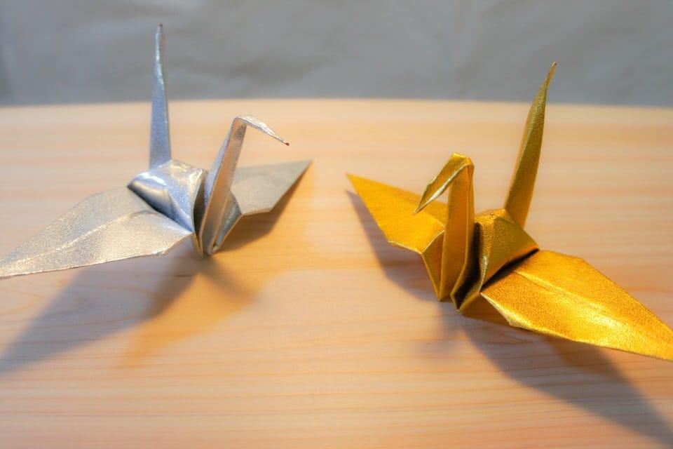 hiasan dinding dari kertas origami