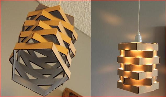 Cara Membuat Lampu Hias Dari Kardus