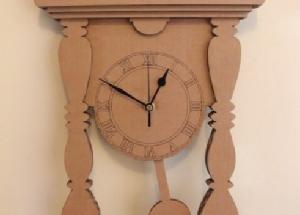 Cara Membuat Jam Dinding Dari Kardus