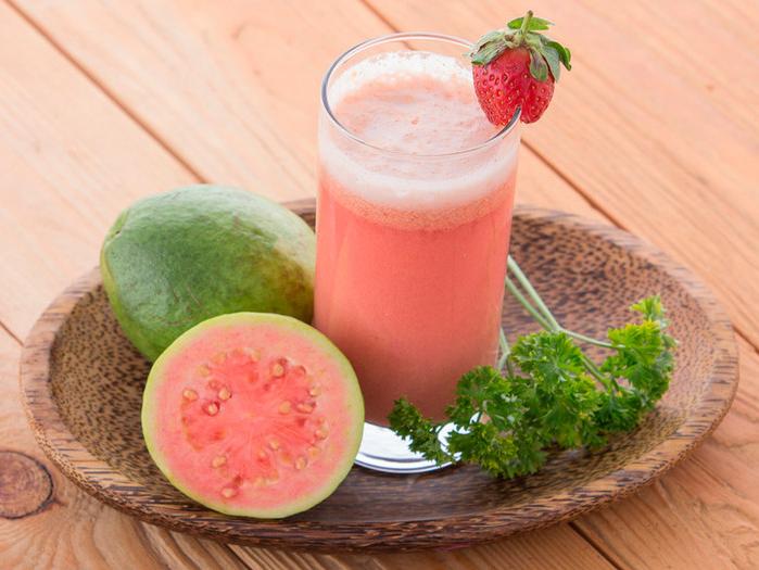 manfaat jus jambu merah