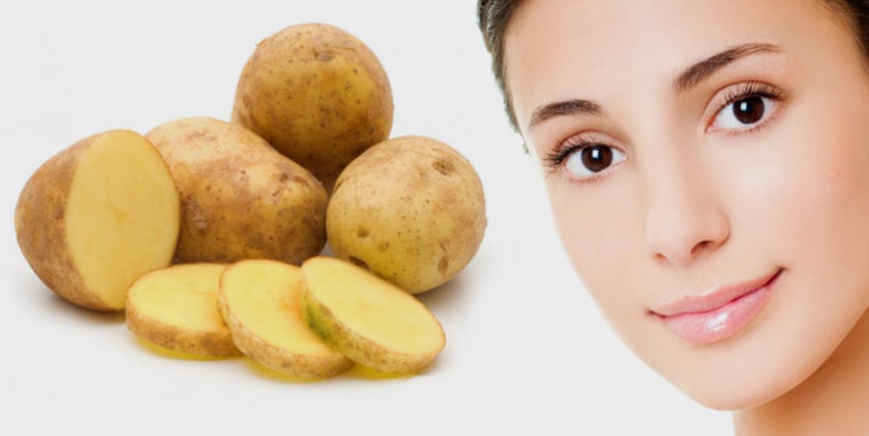 manfaat kentang untuk wajah