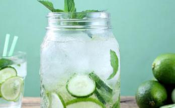 Manfaat Infuse Water Timun