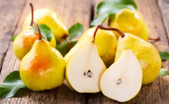 manfaat buah pir kuning