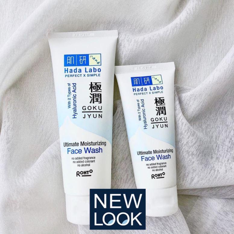 Review Hada Labo Gokujyun Ultimate Moisturizing Face Wash