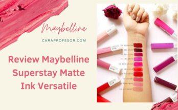 Review Maybelline Superstay Matte Ink Versatile
