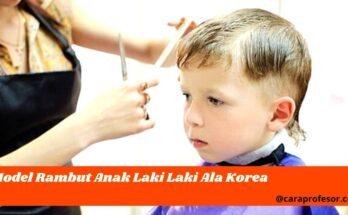 model rambut anak laki laki ala korea