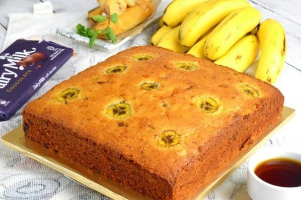 resep cake pisang panggang spesial