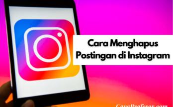 cara menghapus postingan di instagram