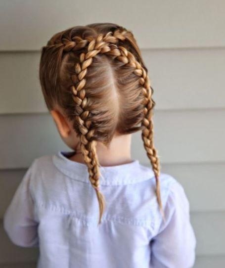 model kuncir rambut pendek anak perempuan