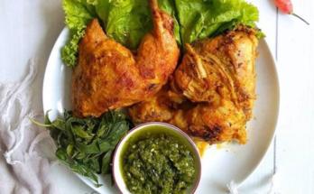resep ayam bakar padang tanpa santan