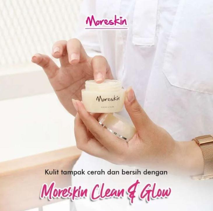 Cara Memakai Moreskin Clean and Glow