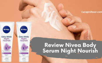 Review Nivea Body Serum Night Nourish