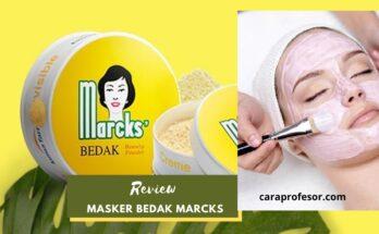 Review Masker Bedak Marcks