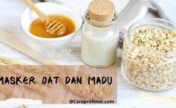 masker oat dan madu