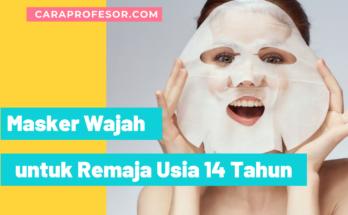 Masker Wajah untuk Remaja Usia 14 Tahun
