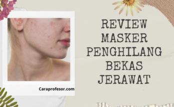 Review Masker Penghilang Bekas Jerawat