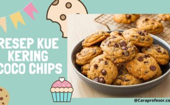 resep kue kering coco chips