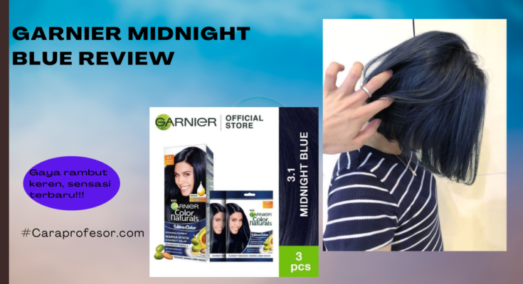 Garnier Midnight Blue Review