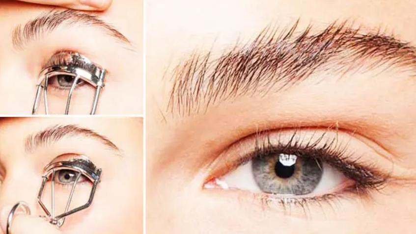 cara memakai penjepit bulu mata