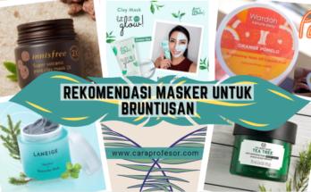 rekomendasi masker untuk bruntusan