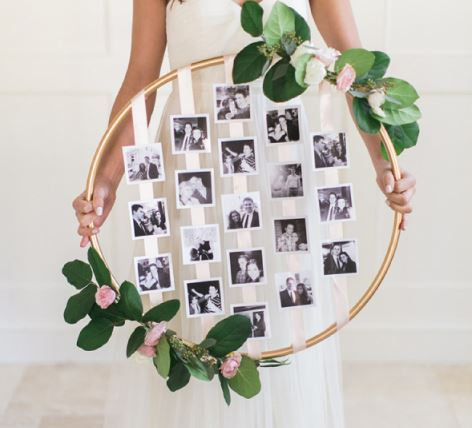 Cara Memasang Foto Polaroid