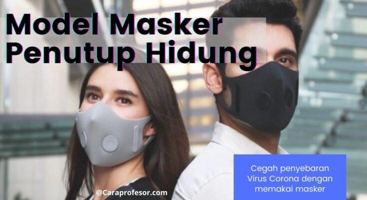 model masker penutup hidung