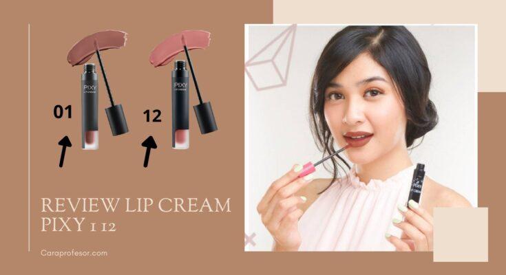 Review Lip Cream Pixy 1 12
