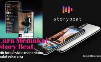 cara memakai story beat