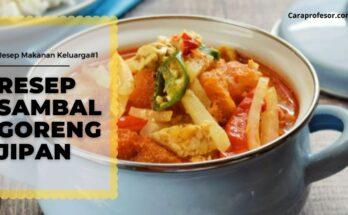 resep sambal goreng jipan