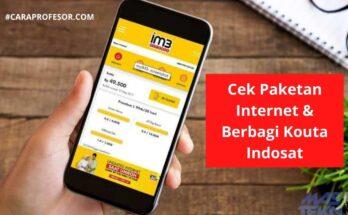 Cek Paketan Internet Indosat