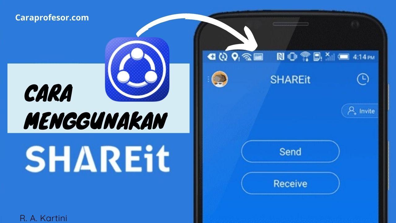 cara menggunakan share it