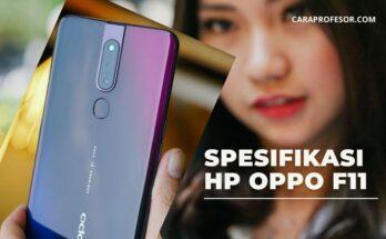 Spesifikasi HP Oppo F11