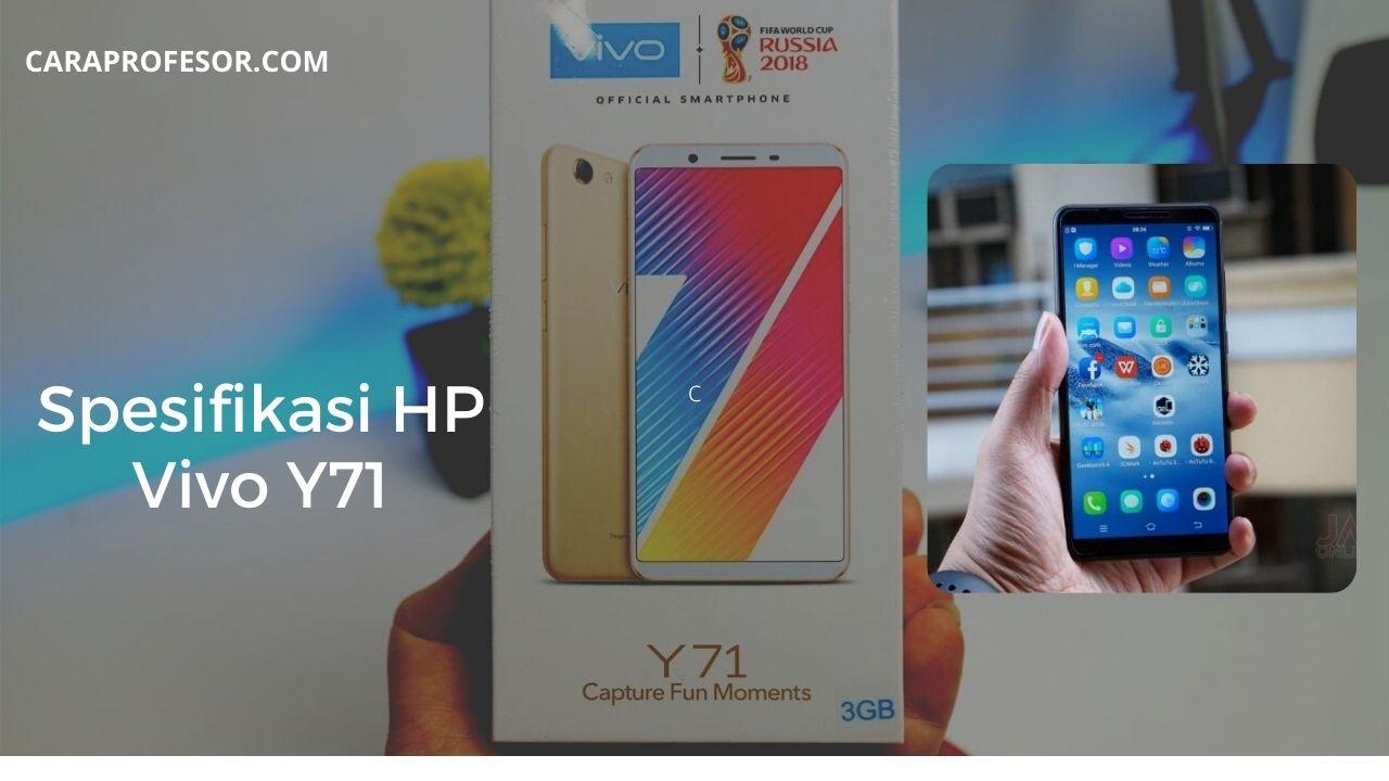 Spesifikasi HP Vivo Y71