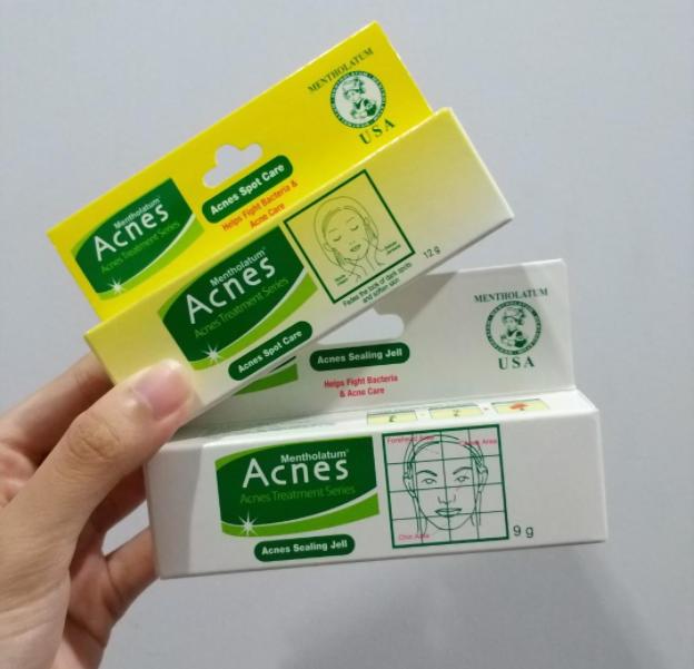 review acnes spot gel