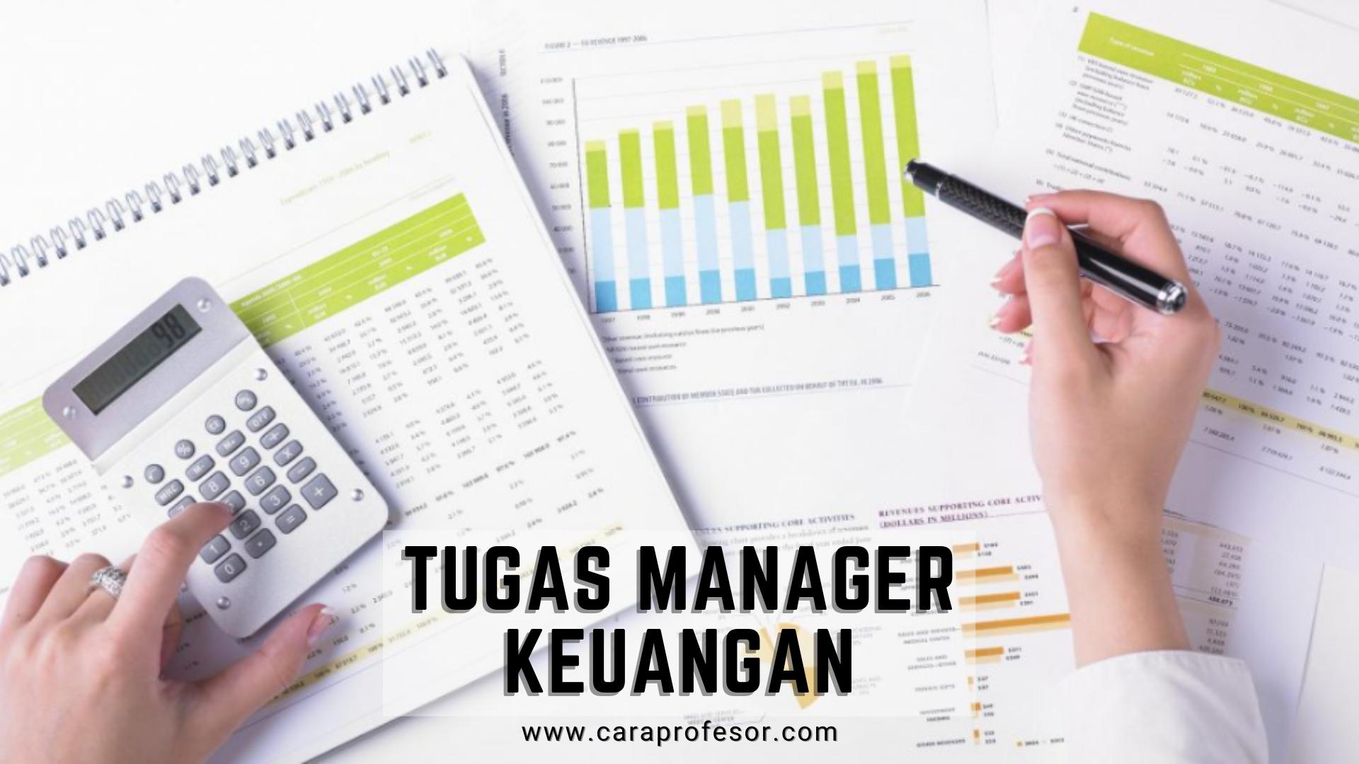 tugas manager keuangan