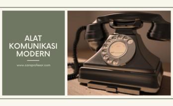 alat komunikasi modern