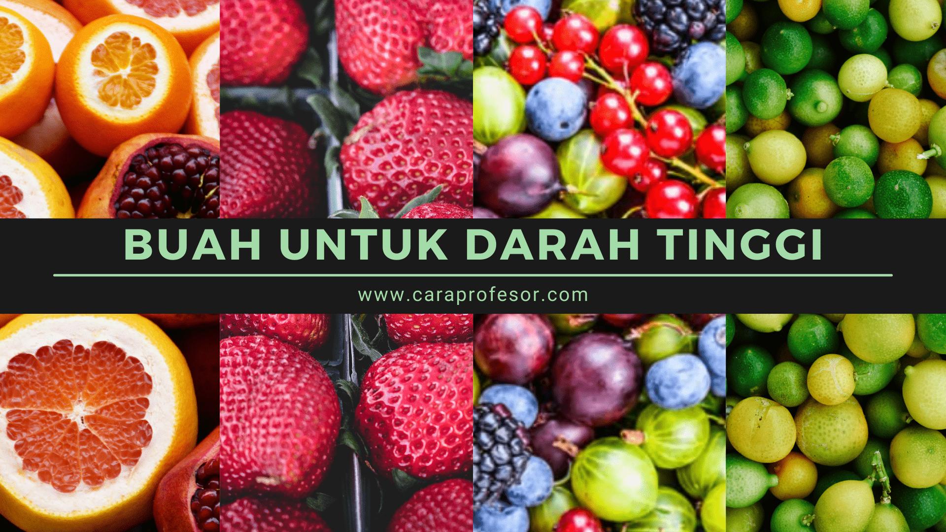 buah untuk darah tinggi