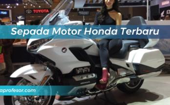 Sepada Motor Honda Terbaru