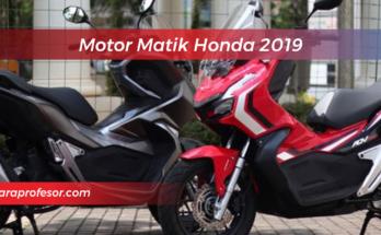 Motor Matik Honda 2019